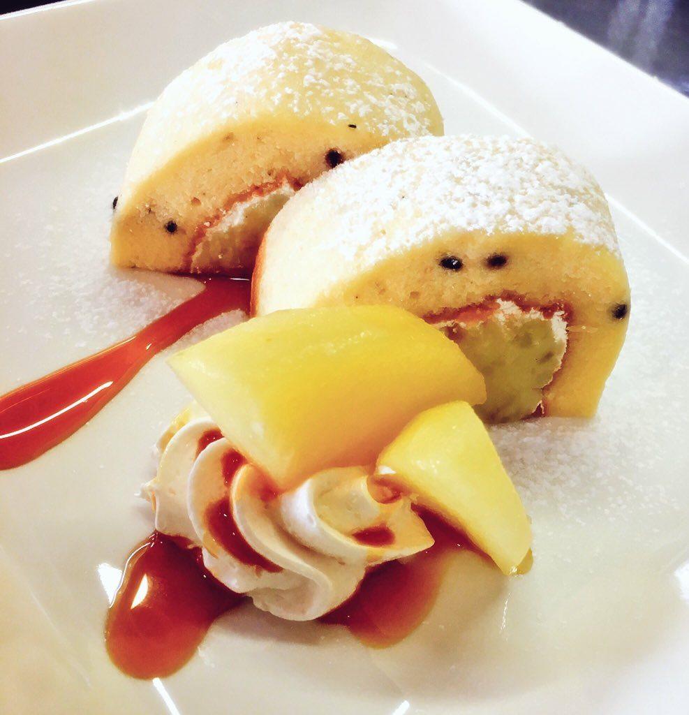 サツマイモりんごのロールケーキ