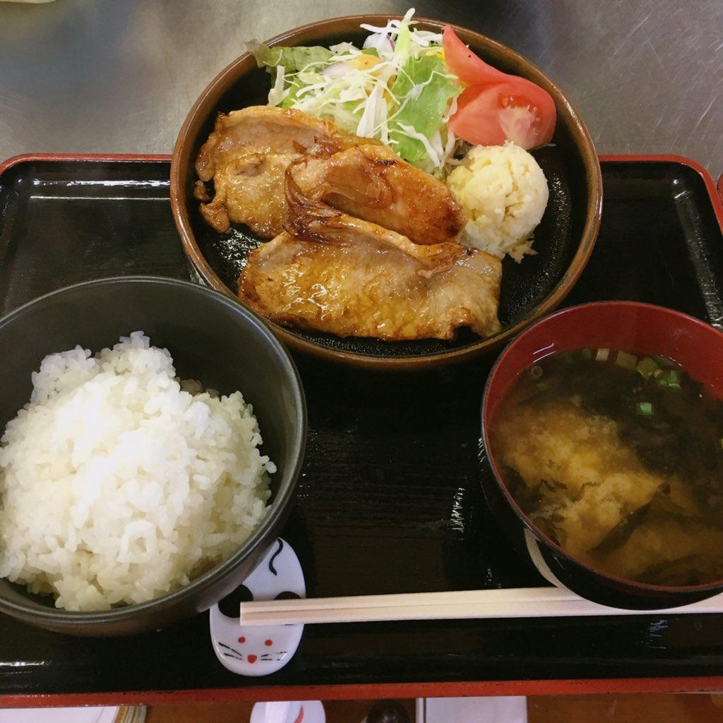 国産豚生姜焼き
